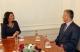 Predsednica Jahjaga dočekala Premijera  Thači